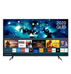 Samsung QE50Q65TAU 50″ Smart 4K Ultra HD HDR QLED with Bixby, Alexa & Google Assistant – Black – A Rated