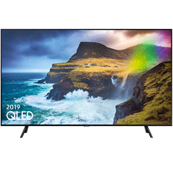 Samsung QE55Q70RATXXU 55″ 4K Ultra HD Quantum HDR 1000 Smart QLED TV with Bixby – Black – B Rated