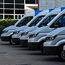 Forbes Rentals new fleet of vans