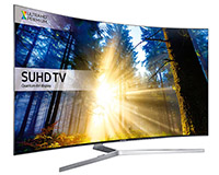 55″ Smart 4K SUHD Curved LED TV