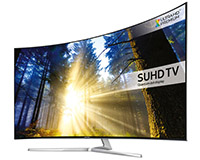 65″ Smart 4K SUHD Curved LED TV