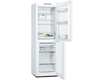 White Freestanding Frost Free Fridge Freezer