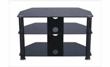 Forbes 800STD – TV Stand (Black)