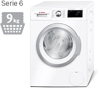 Bosch i-DOS washing machine, Serie 6 8kg