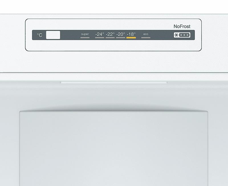 Bosch KGN34NW3AG 297L 60 / 40 Frost Free Fridge Freezer