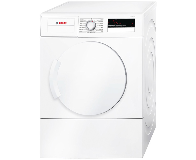 d0a0a588730 Bosch WTA79200GB 7kg Vented Tumble Dryer – White – C Rated
