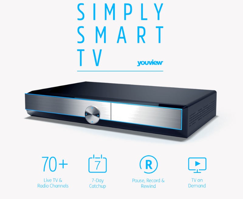 DTR-T2000 Humax YouView Smart FreeView HD Recorder 500GB | F