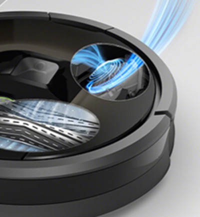 iRobot Roomba cleaning & suction system