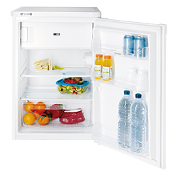 Under Counter Fridge with Ice Box – White – A+ Rated