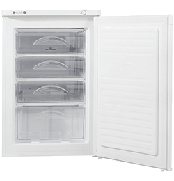 Under Counter Upright Freezer – White – A+ Rated