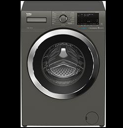 8Kg 1600 Spin Washing Machine – Graphite – C Rated