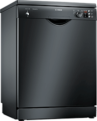 ActiveWater 60cm Dishwasher – Black – A++ Rated