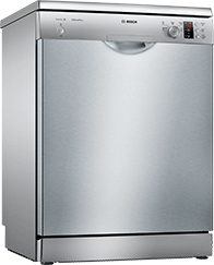 Standard 60cm Dishwasher – Silver – A++ Rated