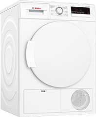 8Kg Condenser Tumble Dryer – White – B Rated