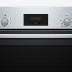 Built-in 66L Electric Single Oven – Stainless Steel – A Rated