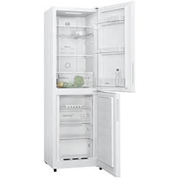 255L 50/50 Frost Free Fridge Freezer – Stainless Steel – F Rated