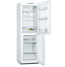 297L 60 / 40 Frost Free Fridge Freezer – White – A++ Rated