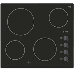 Built-in Ceramic Electric Hob – Black