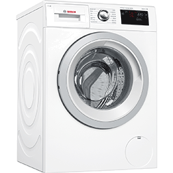 Serie 6 i-Dos WAT286H0GB Wi-Fi Connected 9Kg 1400 Spin Washing Manchine – White – A+++ Rated