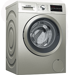 9Kg 1400 Spin Washing Machine – Silver – A+++ Rated