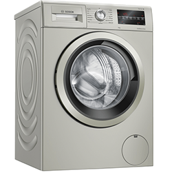 9Kg 1400 Spin Washing Machine  – Inox Silver – A+++ Rated