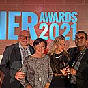 Forbes Rentals celebrate their win at the Innovative Electrical Retailing Awards 2021