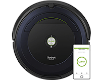 Remote Vacuum Cleaning Robot – Black