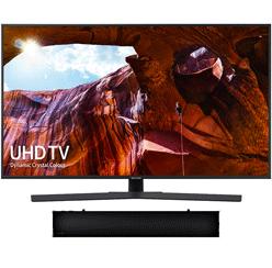 43″ 4K Ultra HDR Smart LED TV & HW-N300 Bluetooth Soundbar