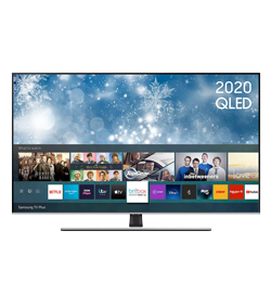 Samsung QE55Q70TAT 55″ Smart 4K Ultra HD HDR QLED TV with Bixby, Alexa & Google Assistant – Black – A rated