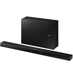 Wireless  Wi-Fi and Bluetooth Multiroom Soundbar with Wireless Subwoofer – Black