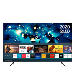 43″ Smart 4K Ultra HD HDR QLED with Bixby, Alexa & Google Assistant – Black – A