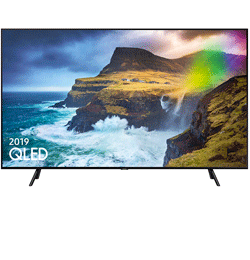 49″ 4K Ultra HD Quantum HDR Smart QLED TV with Bixby – Black – A Rated