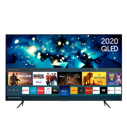 50″ Smart 4K Ultra HD HDR QLED with Bixby, Alexa & Google Assistant – Black – A Rated