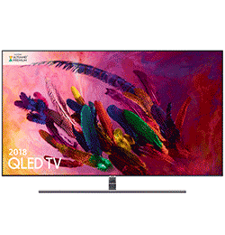 55″ 4K Ultra HD Premium HDR 1500 Smart QLED TV with TVPlus – Black – B Rated
