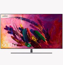55″ 4K Ultra HD Premium HDR 1500 Smart QLED TV with TVPlus – Black – B Rated