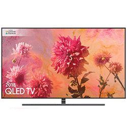 55″ 4K Ultra HD Premium HDR 2000 Smart QLED TV with TVPlus – Black B Rated