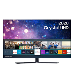 43″ 4K Ultra HDR Smart LED TV with Bixby, Alexa & Google Assistant – Black – A+ Rated