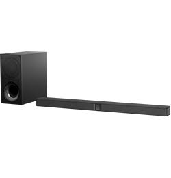2.1″ Bluetooth Sound Bar with Wireless Subwoofer – Black
