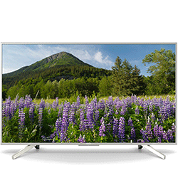 65″ 4K Ultra HD HDR Smart LED TV with Freeview Play – Silver – A+ Rated