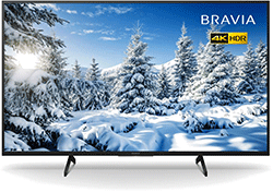 43″ 4K Ultra HD HDR Smart LED TV – Black – A Rated