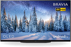 Sony KD55AG8BU 55″ 4K Ultra HD HDR Smart OLED Android TV with Dolby Audio – Black