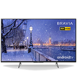 55″ 4K Ultra HD HDR  Smart Android TV with Dolby™ Audio – Black – A Rated