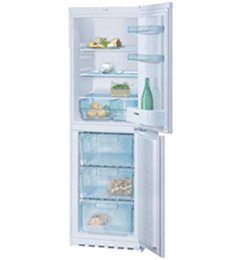 60/40 Fridge Freezer – White – A+ Rated