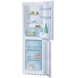 Fridge Freezer – White – A+ Rated