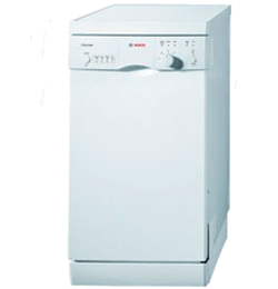 9 Place Slimline 45cm Dishwasher – White – A+ Rated