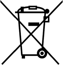 Crossed-Out Wheeled Bin symbol