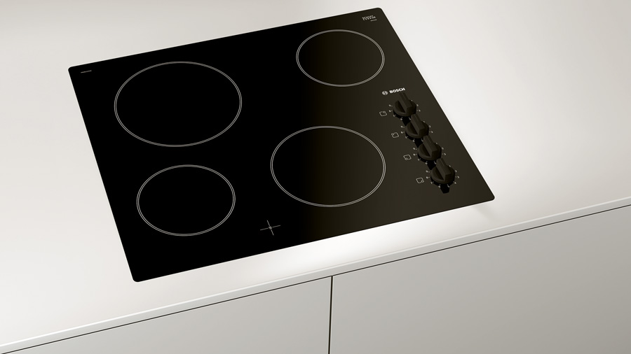 Built-in Bosch ceramic hob