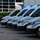 Forbes Rentals new fleet of vans