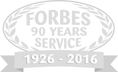 Forbes 85 Years Service