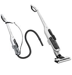 Athlet Upright Cordless Vacuum Cleaner – White